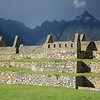 Machu Picchu was built in the 15th Century on a remote Andean ridge, 75 miles NW of Cuzco.