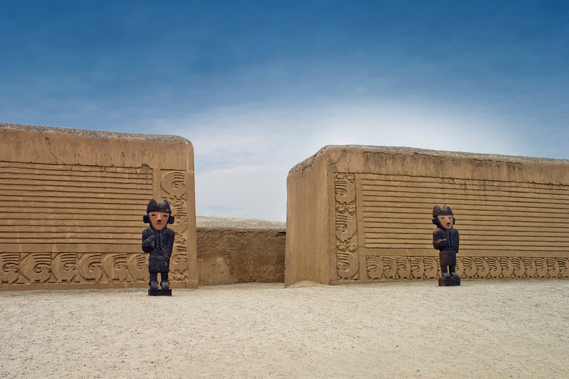 Chan Chan - Totem (Peru).<br /> <br /> Chan Chan or the city of mud, with its deity Chimu preculture of the Incas.