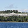The Grand Hotel on Mackinac Island.