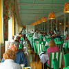 Grand Hotel's main dining room serves breakfast lunch and dinner. It can seat 750 people in its 3,400 square foot dining room
