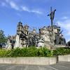 The Heritage Monument in Cebu, Philippines.