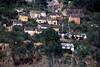Houses outside of Antananarivo, Madagascar.