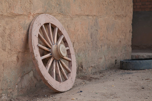 RN 3 | Spare wheel for ox-carts