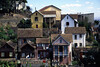 Houses in Antananarivo, Madagascar.