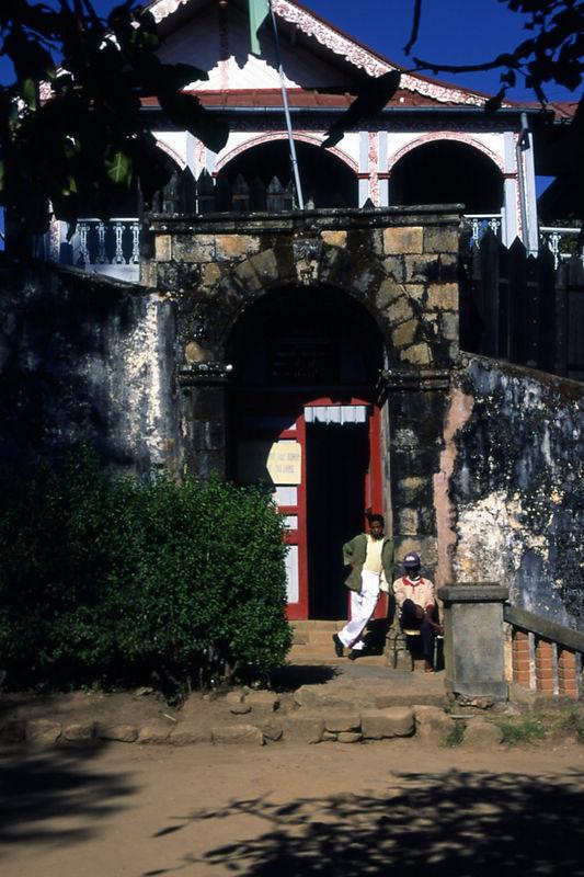 King Andrianampoinamerina's Palace, Madagascar.