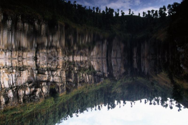 Volcanic Lake of Tritriva, Madagascar.