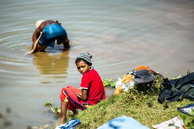 Clothes washing Antananarivo