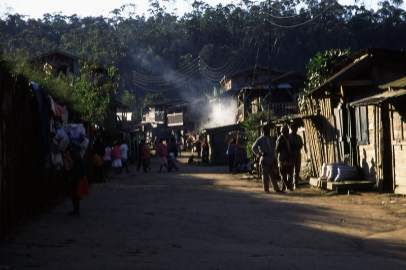 Street in Madagascar.
