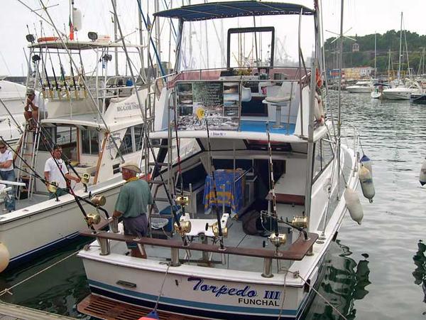 Big game fishing on Madeira. Detta var spennande og få vera med på...Fiskeslag som me fiska etter var alt frå tunfisk til sverdfisk.