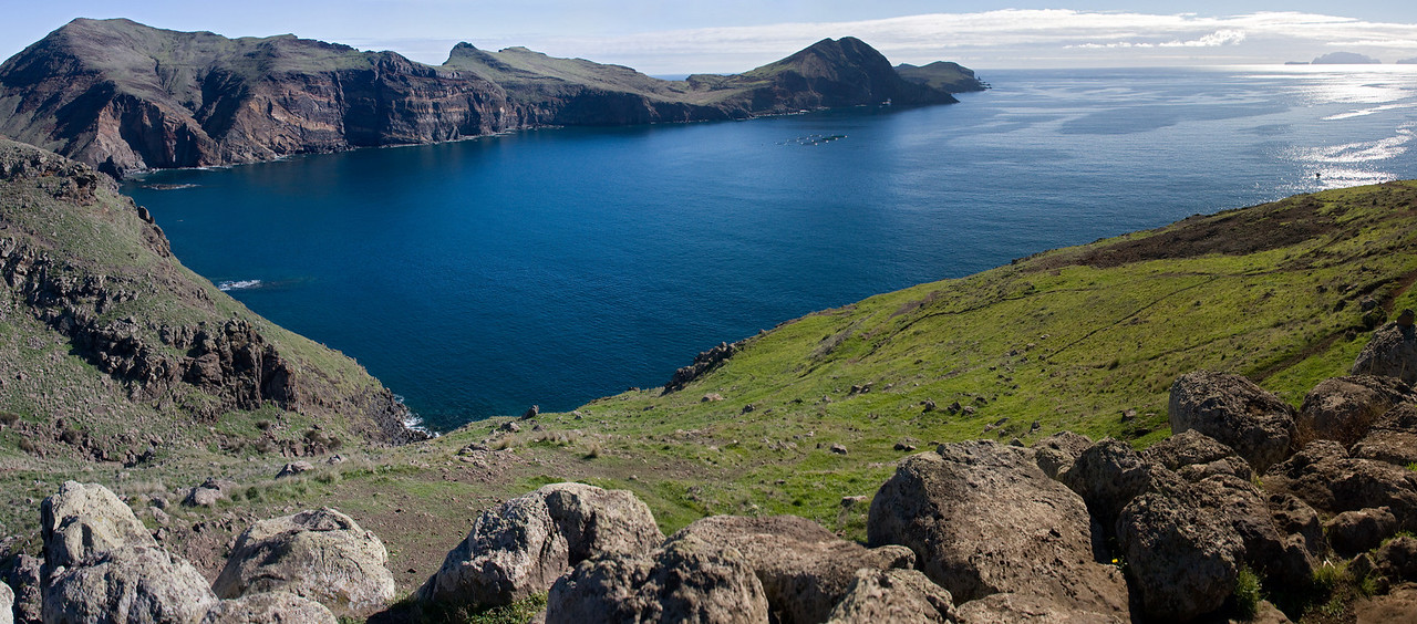 Ponta de Sao Lourenco, easternmost point of Madeira