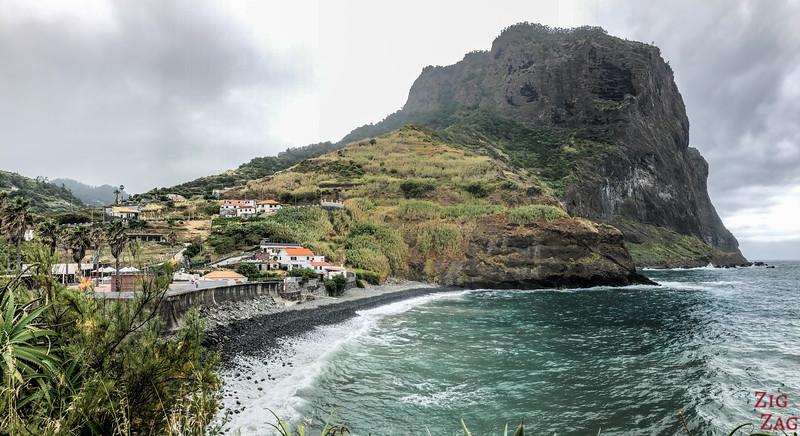 Porto da Cruz beach