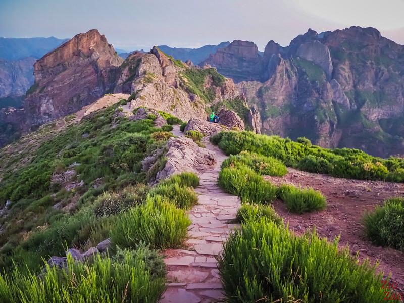 Pico do Arieiro to Pico Ruivo trail