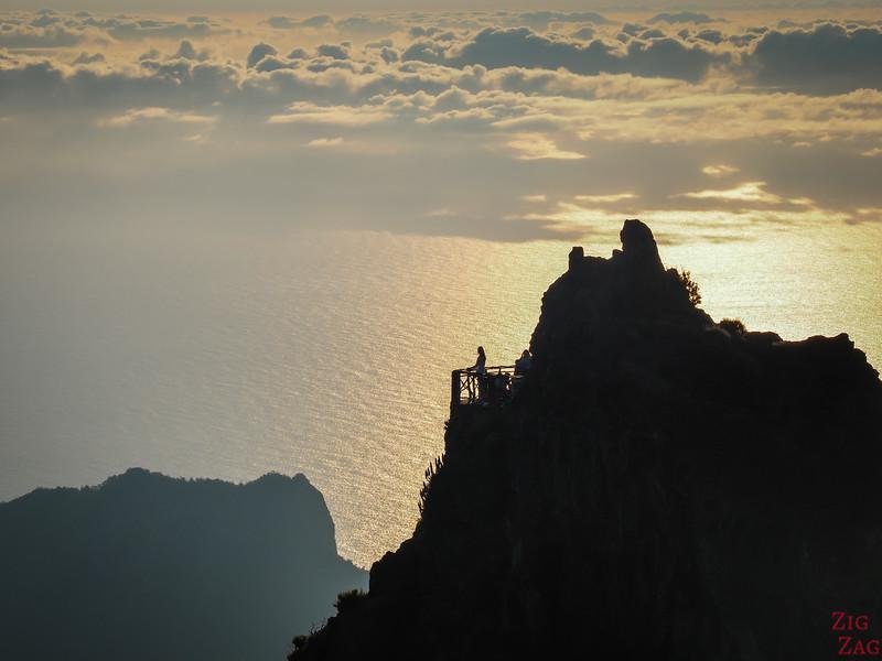 Pico do Arieiro to Pico Ruivo hike - Miradouro do Ninho da Manta 2