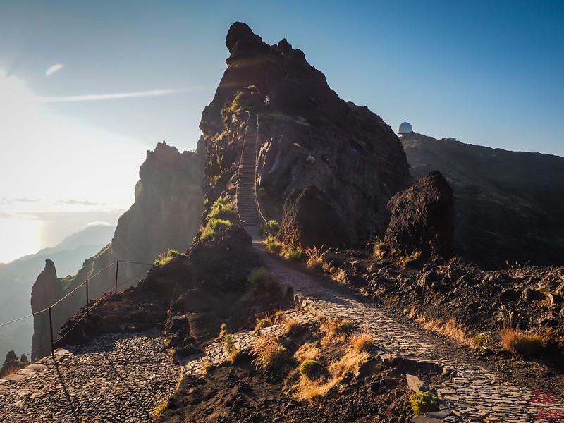 Pico do Arieiro to Pico Ruivo hike - Pedra Rija 2