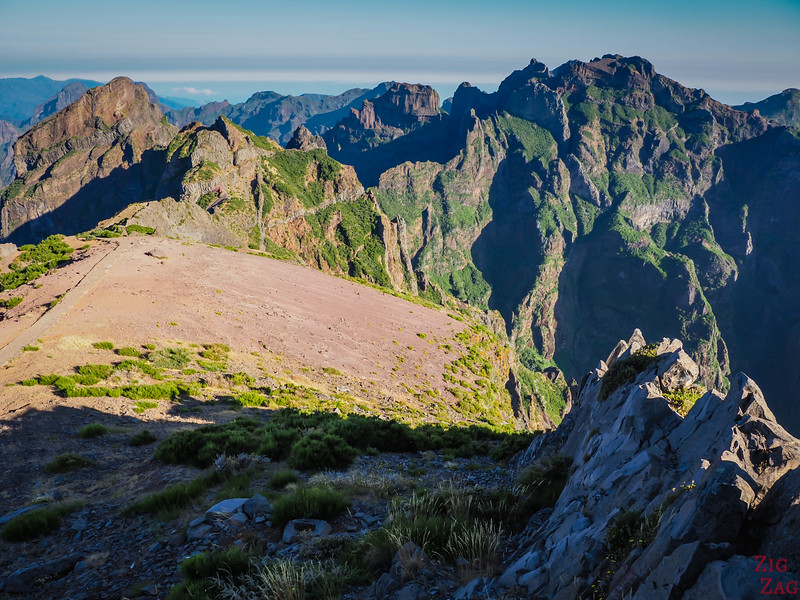 Pico do Arieiro Viewpoint - view