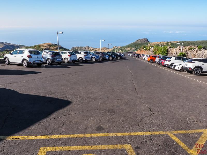 Pico do Arieiro carpark