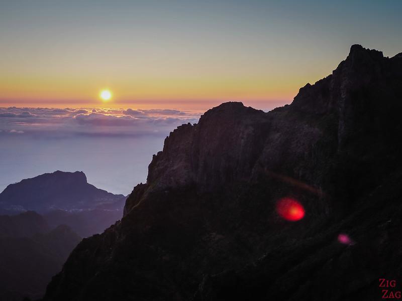 Sonnenaufgang am Pico do Arieiro