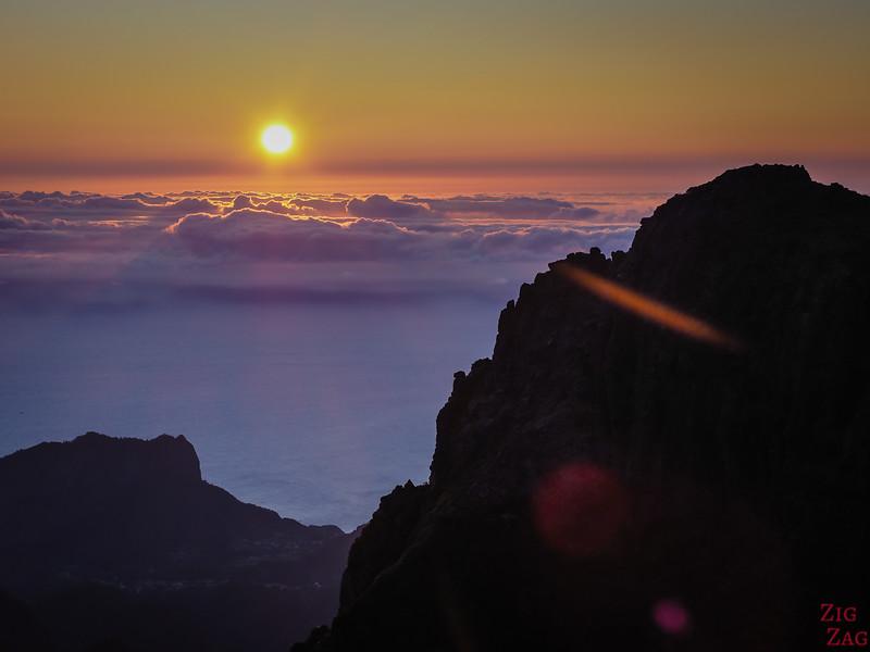 Sunrise at Pico do arieiro