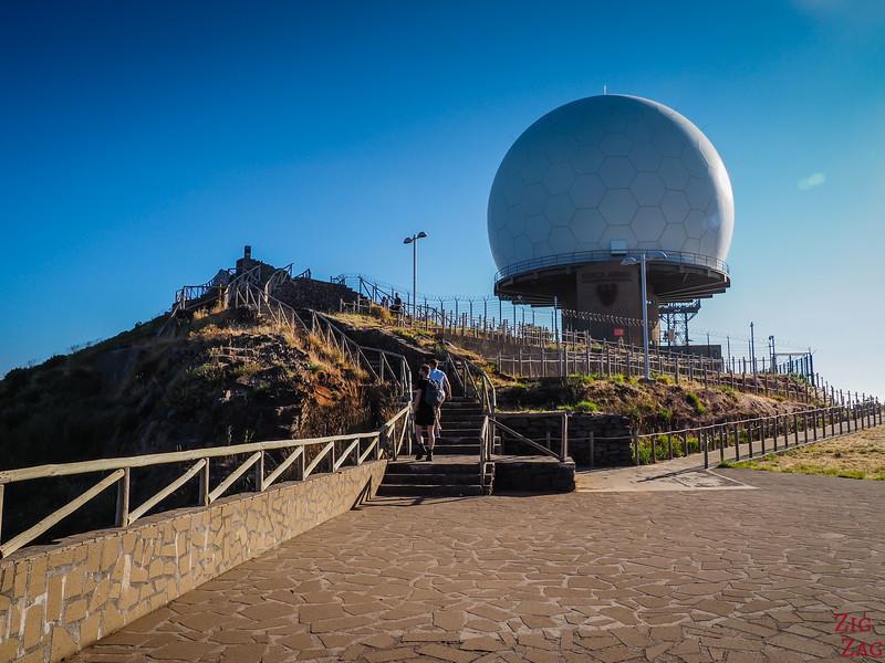 Pico do Arieiro Viewpoint access