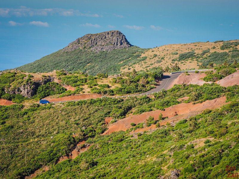 road to Pico do Arieiro Madeira