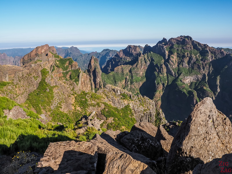 visit Pico do Arieiro in Madeira