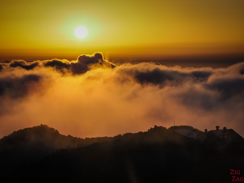 Pico Ruivo Wanderung Sonnenaufgang