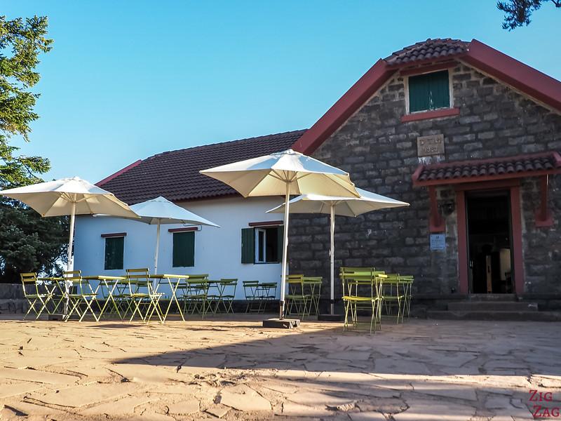 Pico do Arieiro Hike restaurant under Pico Ruivo