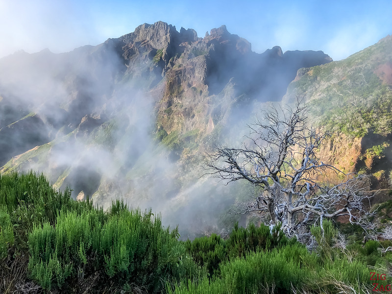 Cloudy pictures of Madeira