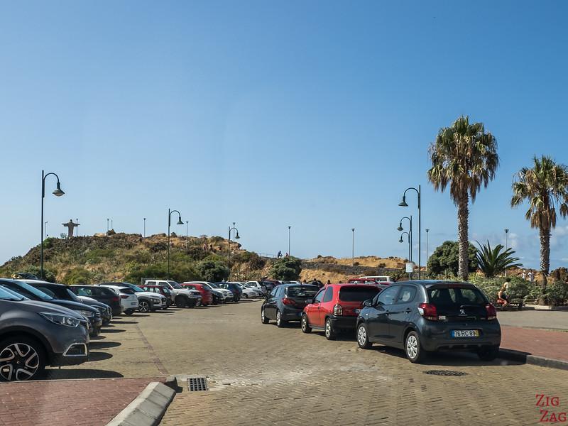 Madeira Ponta do Garajau carpark