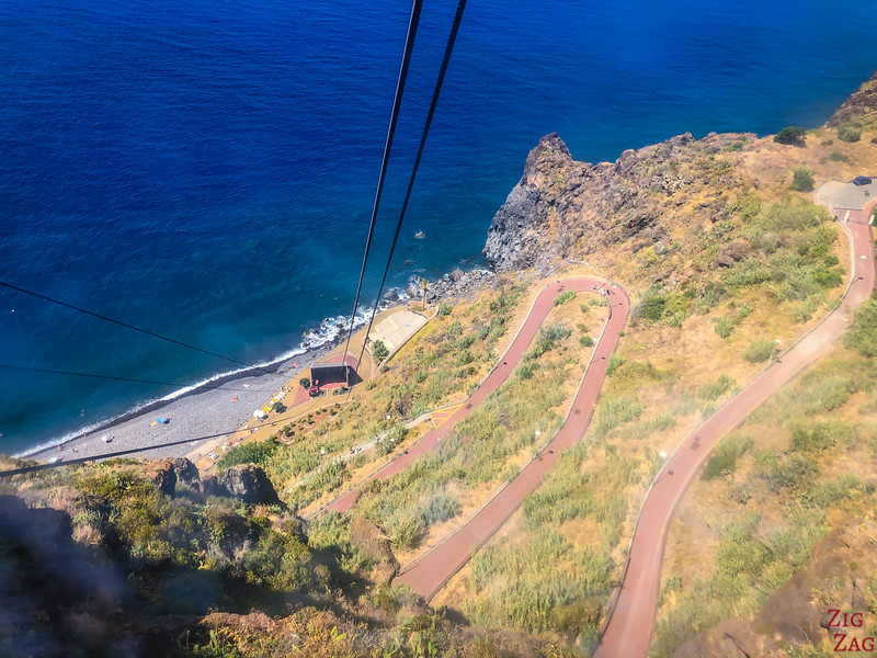 from Garajau cable Car