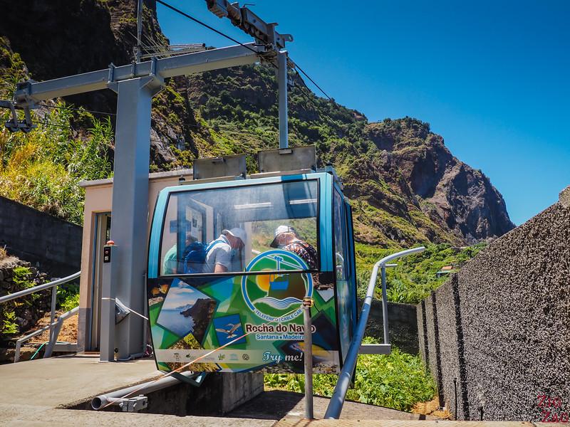 cabine du téléphérique de Rocha do Navio