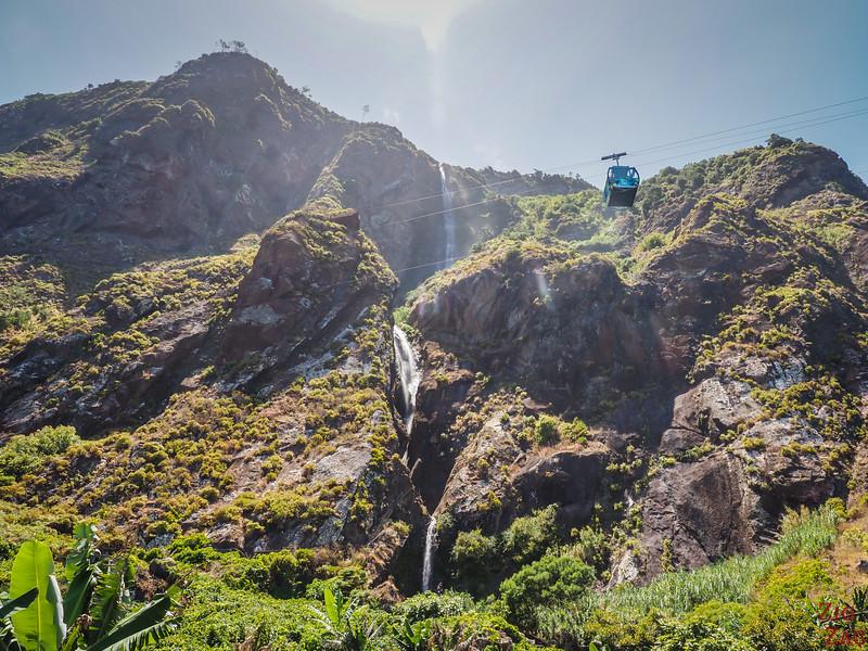 Rocha do Navio Seilbahn Wasserfall