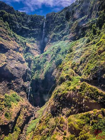 Teleferico Rocha do Navio (téléphérique) - cascade