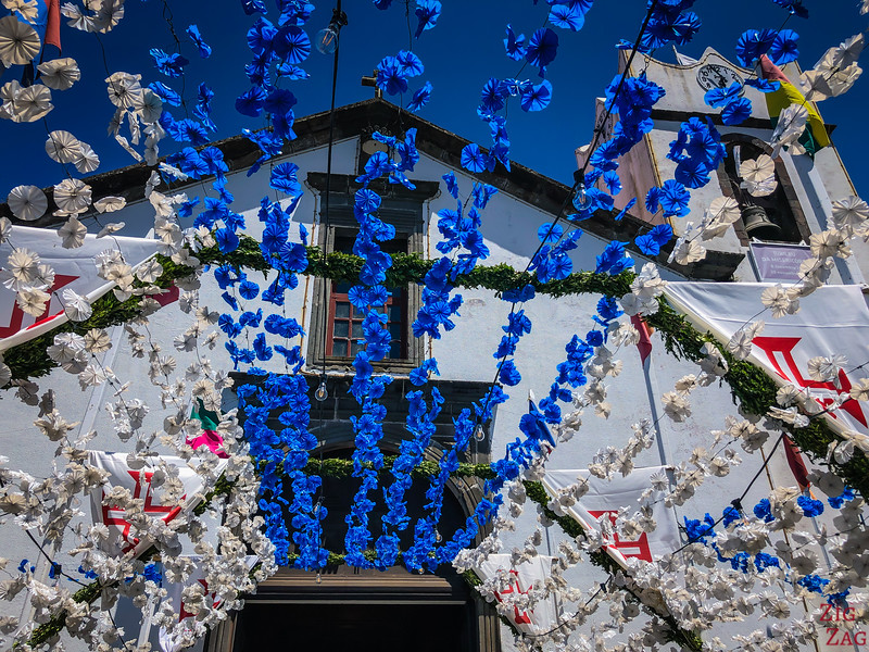 Celebration flowers in Madeira