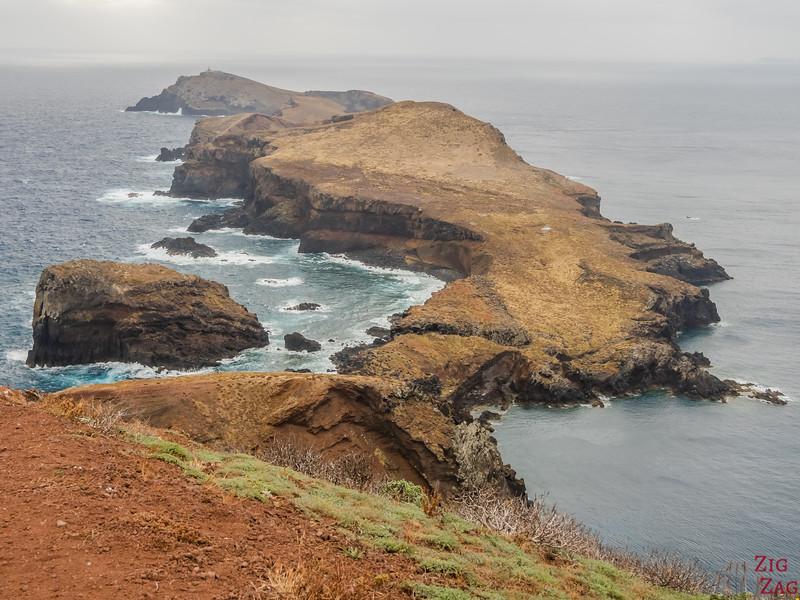 Ponta de Sao Louranço Lighthouse