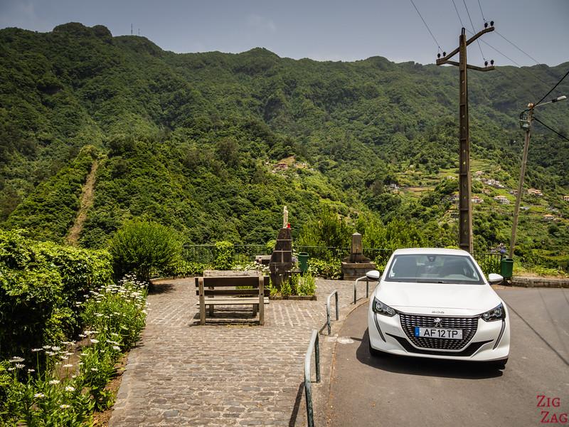 Mietwagen auf Madeira
