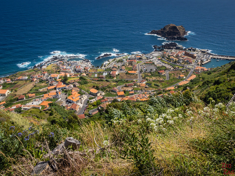 Miradouro da Santinha - Blick über Porto Moniz