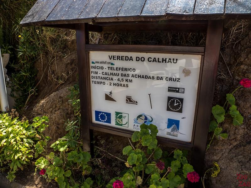 Vereda do Calhau Wanderung - Achadas da Cruz