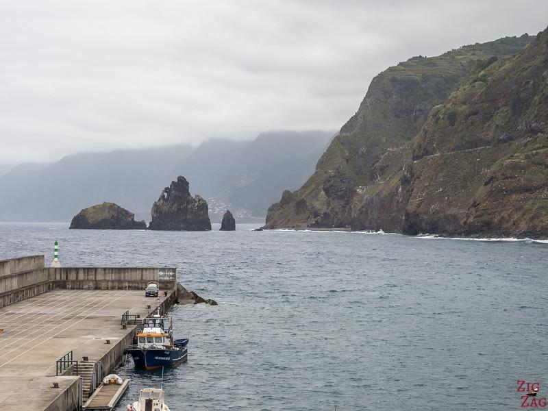 Ribeira da Janela islets from Porto Moniz