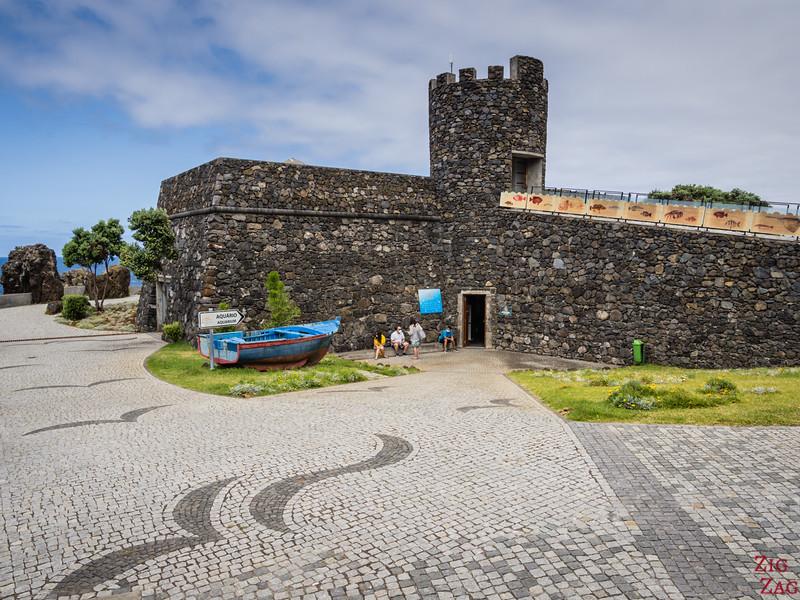 Porto Moniz fort