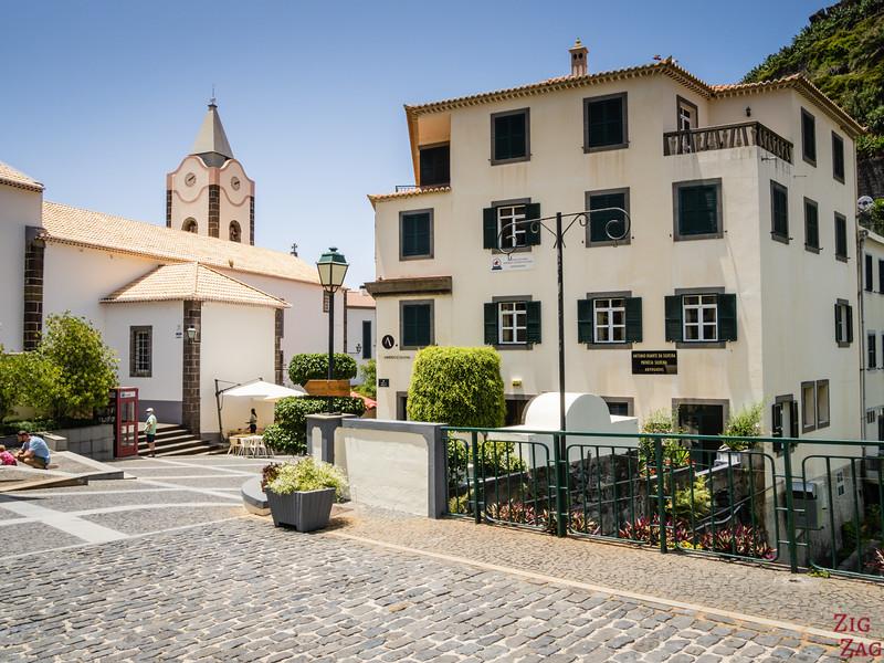 Ponta do sol old town