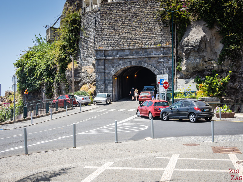 Ponta do Sol carpark tunnel