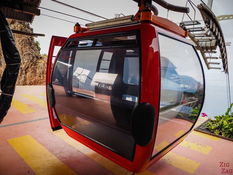 Cabine téléphérique Cabo Girao
