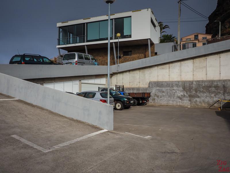 Parking du téléphérique de Cabo Girao