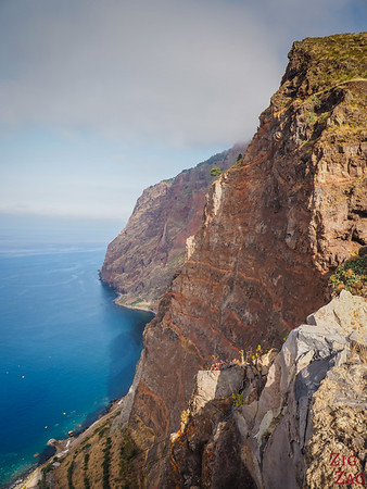 Téléphérique de Cabo Girao - descente 2