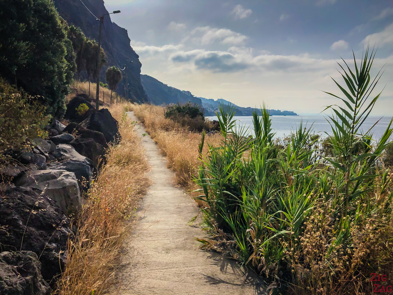 Cabo Girao chemin