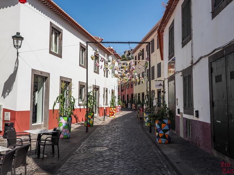 Camara de Lobos colorful streets