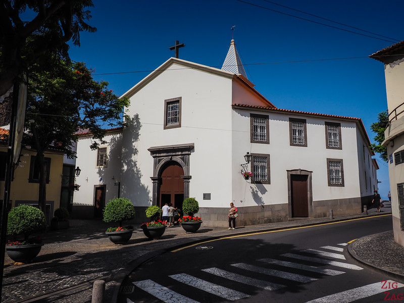 Camara de Lobos church - Igreja Matriz de São Sebastião