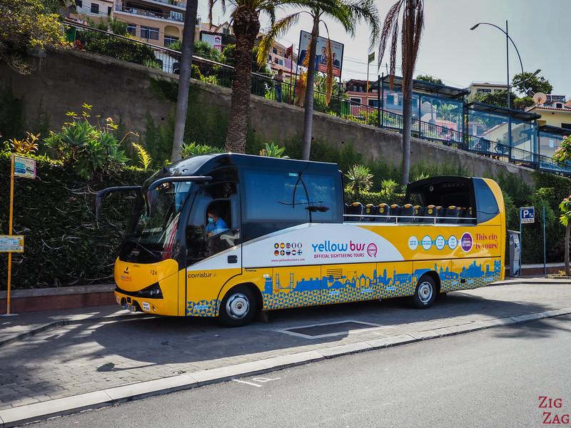 Hop-on hop-off à Funchal