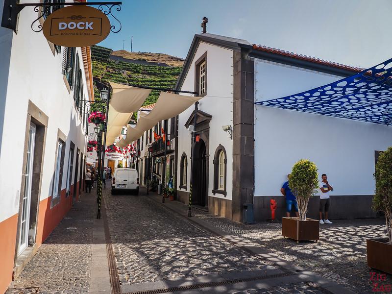 Camara de Lobos old town